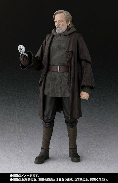 S.H.Figuarts Star Wars THE LAST JEDI LUKE SKYWALKER Action Action Action Figure BANDAI NEW 3f1ef6