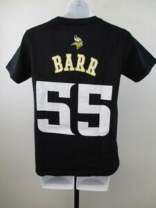 8426dbe3d New Anthony Barr  55 Minnesota Vikings Youth Sizes S-M-L-XL Black ...