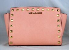 4a5328b42738 Michael Kors Medium Selma Stud Leather Crossbody Bag 30T3GSMM2L for ...
