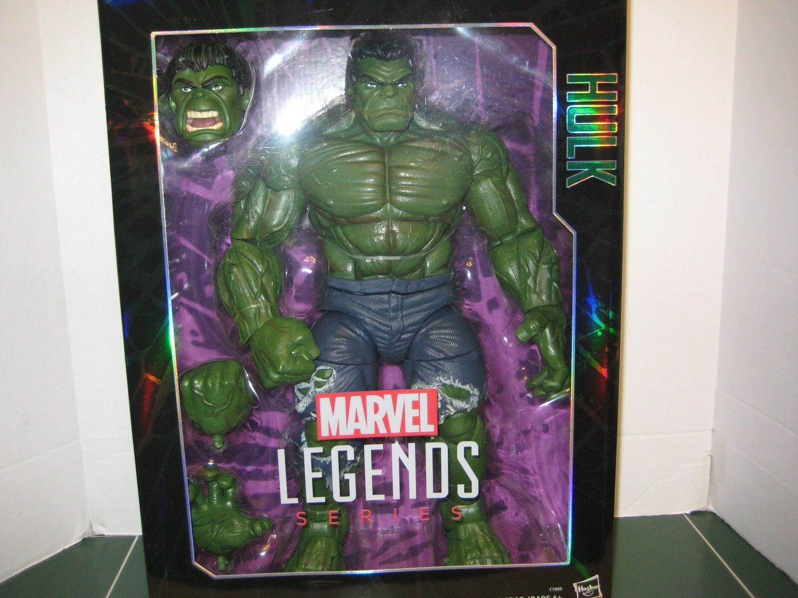 Marvel Legends Series 17 inch Hulk Figure Sealed NEW