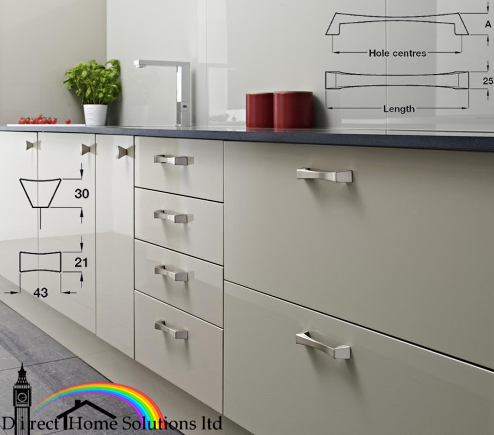 Italian Designer Caleido D Handle Fix Kitchen Cabinet Cupboard Drawer Door Knob