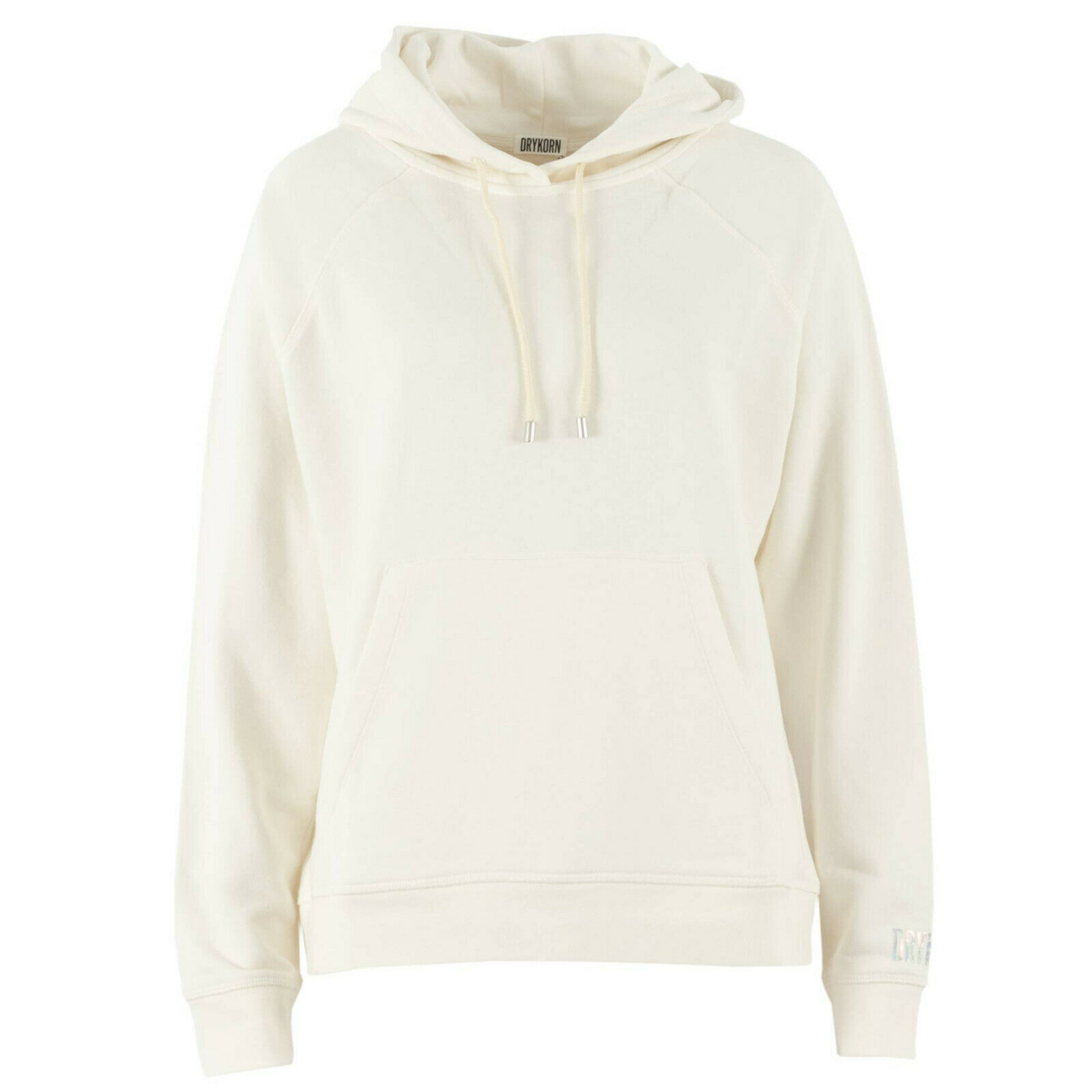 DRYKORN Damen Kapuzenpullover 522038 Emie Ecru / XS + S / Hoodie Sweater