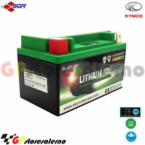 06750144SR BATTERIA LITIO SKYRICH POTENTE YT12A-BS KYMCO 300 PEOPLE GTI IE 2012