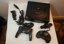 Lot Sega Saturn (PAL) - 1er Génération - 2 Manettes + 11 Jeux - tout fonctionnel