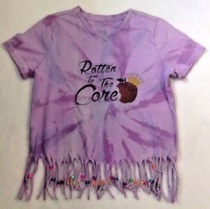 691ea0c6aec09 Details about Girl's Tie Dye Beaded Fringe Shirt Sz L 10/12
