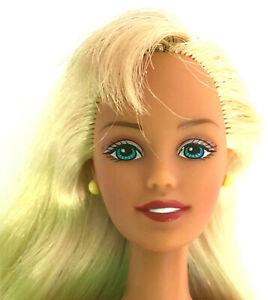 Mattel Barbie MODERN SKIPPER DOLL Brown Hair Blue Nude