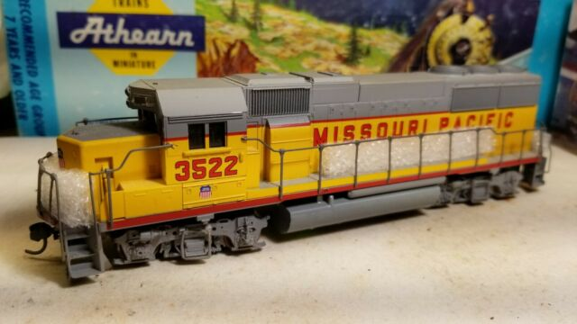 ATHEARN HO SCALE GP50 Missouri Union PACIFIC #3522 locomotive train engine