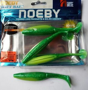 Noeby-peche-leurre-souple-odorant-Shad-Minnow-10cm-9g-couleur-205
