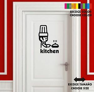 Sticker-Vinilo-Cocina-Kitchen-Cuisin-Wall-Art-Decal-Vinyl-Pegatina-Playmobil