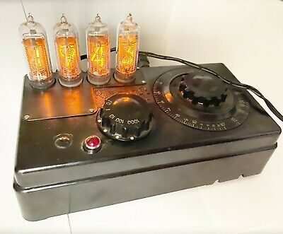 Upgrade from Nixie Alco Electronic Products Vintage Elfin Readout Tubes MG-19B