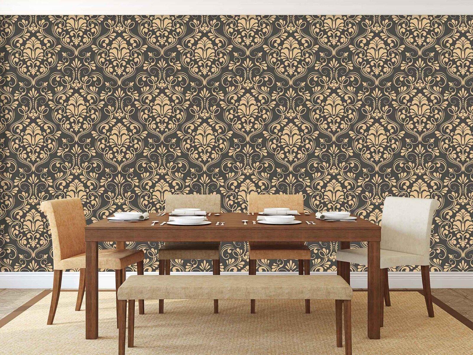 3D Blumen Rebe Muster 2005 Tapete Wandgemälde Tapete Tapeten Familie Kinde DE
