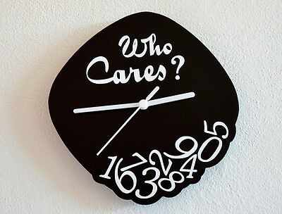 Who Cares? - Wall Clock