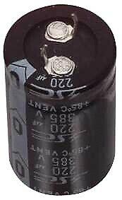Aluminum Electrolytic Capacitor Snap In Terminal Type 470uF 250V 105°C
