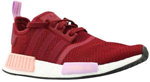 Details zu Adidas NMD R1 W Damen Frauen Sneaker Turnschuhe Schuhe rot B37646 Gr 36 38,5 NEU