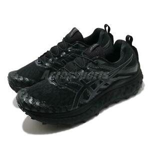 Asics Trabuco Max Black Men Trail Running Shoes Sneakers Trainers 1011B028-002