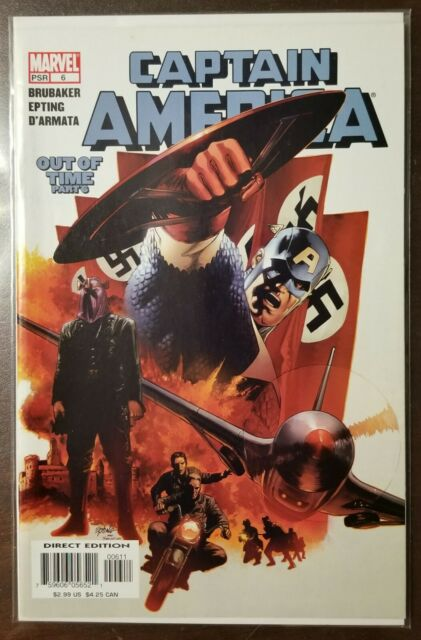 Captain America #6 1st Appearance Of The Winter Soldier 2005