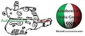 SERRATURA PORTA ANTERIORE SX INT MAN AUTOBIANCHI Y10 85/>95 3P 1985/>1995