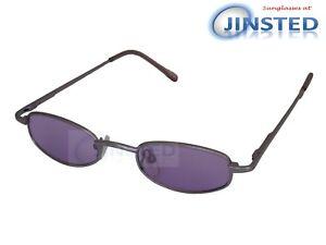Occhiali di molla Lenti alta a sole in viola argento da Montatura qualità piccoli Cl025 Braccia rqgr4