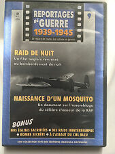 REPORTAGES DE GUERRE 1939 -1945 .. N°9 .. RAID DE NUIT / NAISSANCE D'UN MOSQUITO