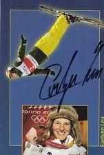 Evelyne Leu: Olympia Gold 2006 Ski Freestyle Aerials  SUI