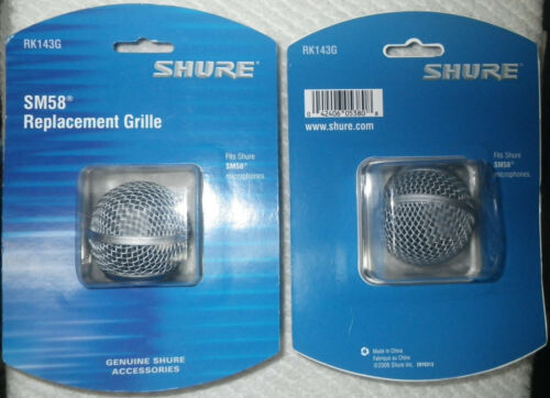 Replacement Grille for SM58 New Original Shure RK143G Shure Mic Grill SM 58