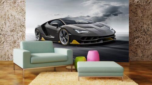 Super Sports Car Lamborghini Wallpaper Mural Photo Kids Poster DIY Decoration