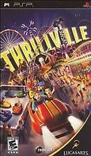 NEW SEALED Thrillville PSP Video UMD Game amusment adventure ride BLACK LABEL