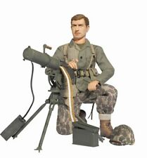 "Dragon 1/6 Scale 12"" WWII US Soldier USMC Marine Machine Gunner Eric Stark 70765"