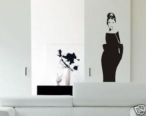 Adesivi Murali Audrey Hepburn.Wall Stickers Sticker Adesivi Murali Audrey Hepburn P13 Ebay