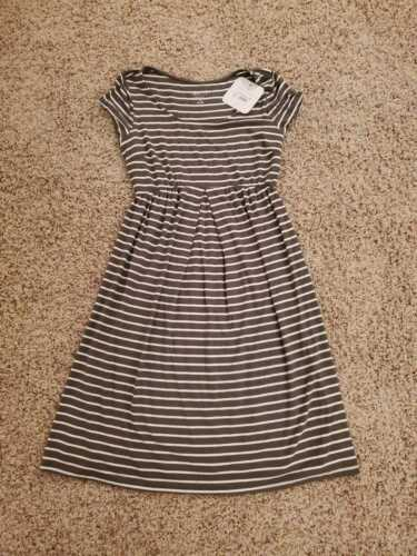 Isabel Maternity Olive green Maternity  elastic waistband short sleeve  dress