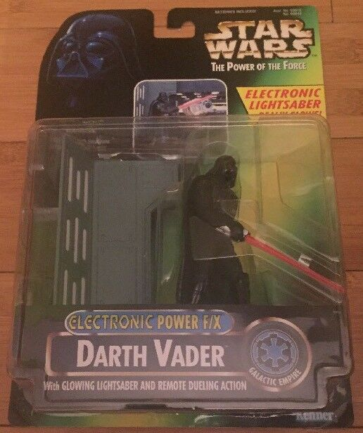 Star Wars Power Of The Force Electronic Power F F F X Darth Vader Vintage 991eed