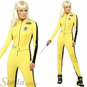 BRUCE LEE ADULT JUMPSUIT KILL BILL COSTUME UK SELLER Small FANCY DRESS