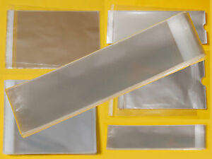 Image Is Loading Clear Tall Slim Cello Display Bags Cellophane