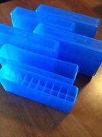 (2) Blue 25/06 270 30/06 30-06 8x57 338 Berry's Slip Top Box 20 Round Mpn 110