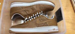 b4d7de01921 Details about 05  Men s Nike Air Force 1 Premium Maple Birch 309096-222 sz  13