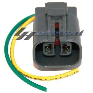image is loading new-alternator-repair-plug-harness-2-wire-pin-