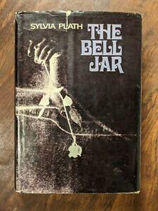 The-Bell-Jar-Sylvia-Plath-1st-U-S-Edition-3rd-Printing-HCDJ-First-Ed-NOT-BC