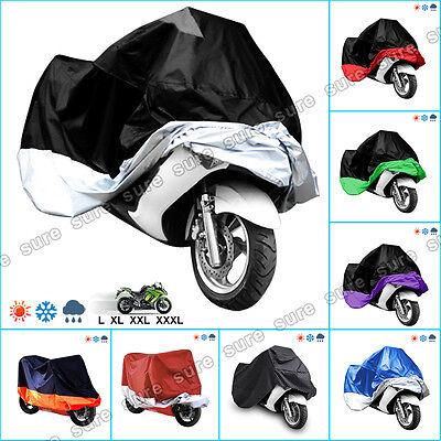 Funda Cubierta Protector de Polyester para Todos Tipo Moto XL / XXL / XXXL