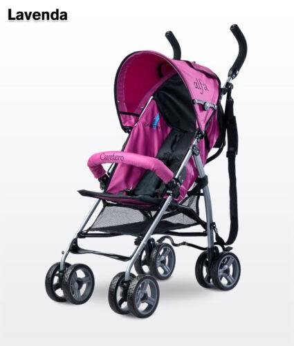 Caretero ALFA PUSHCHAIR LIGHTWEIGHT BABY STROLLER BUGGY Next Day Delivery