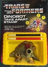 DINOBOT SNARL TAKE APART STAMP G1 Transformers NOS moc Case Fresh HG TOYS AFA it