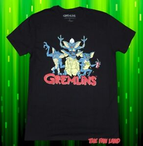 Gremlins Stripe T-shirt based on the classic 1984 movie 80s