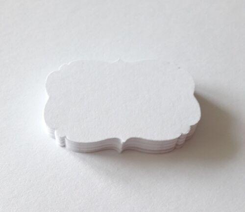 30  Vintage Geschenkanhänger Tischkärtchen für Hochzeit//natur 4cm x 5,6cm