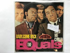The-Equals-Baby-come-back-single-vinyl-Sammlung