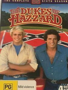 The-Dukes-of-Hazzard-The-Complete-Sixth-Season-6-DVD-Like-New