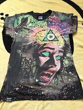 DROP Dead Clothing cervello Eater T Shirt T-shirt da uomo unisex Small S
