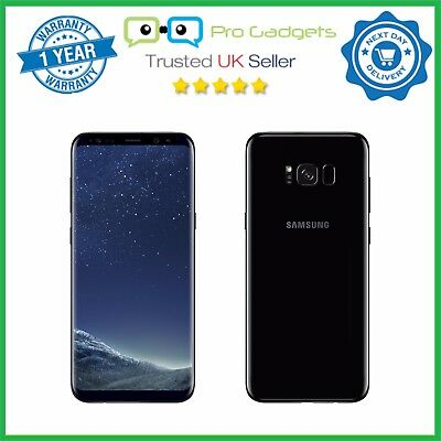 "Samsung Galaxy S8 + Plus Dual Sim G955FD 4G 64GB 6.2"" Unlocked - Midnight Black"