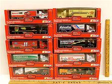10 Vintage Racing Champions 1993 Diecast Cab Team Transporters 1:87 Scale NIB
