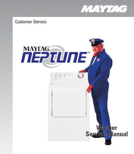 maytag neptune washer service repair manual ebay rh m ebay ie maytag neptune washer repair manual mah5500bww maytag neptune washer service manual download
