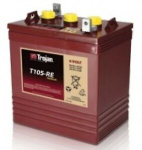 BATTERY-TROJAN-6V-T105-RE-225AH-FOR-SOLAR-RENEWABLE-ENERGY-EACH