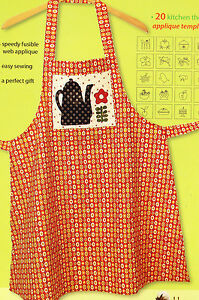 PATTERN-Applique-Apron-quick-amp-easy-PATTERN-20-kitchen-themed-designs